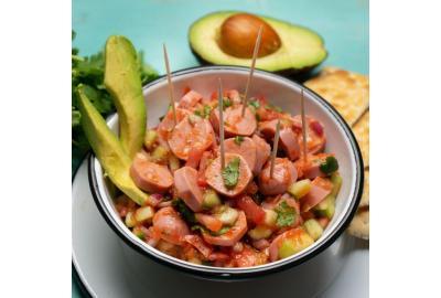 Leckerer Wienersalat - perfekt für heiße Sommertage