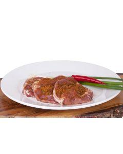 Grill-Halssteak / Nackensteak – Kräuter