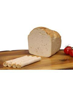 Kalbsleberkäse – Weißer Fleischkäse