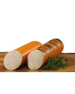 Gelbwurst mit Petersilie – geschnitten