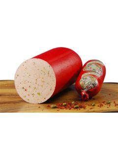 Paprikawurst – geschnitten