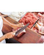 15 kg bestes Schweinefleisch im Paket.