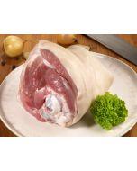 Frische Schweinshaxe oder auch Eisbein genannt, aus Bayern.