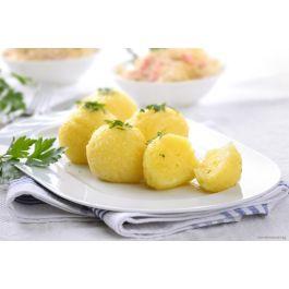 Reibeknödelteig-Kartoffelknödel