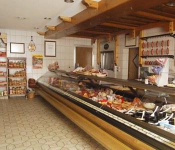 Die Ladentheke aus dem Jahr 1984.